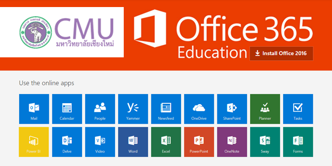 CMU Office 365 New Web Design